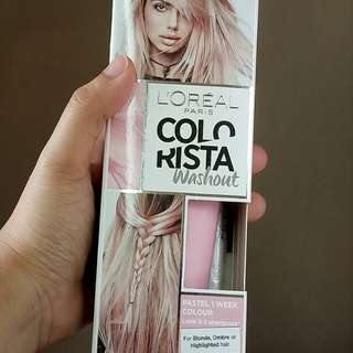 L'Oreal Paris Colorista Washout in Pink