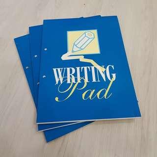 A4 size Writing Pad