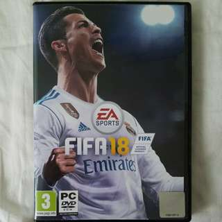 Fifa 18 PC EA Sport足球game (Price Reduced!!!)