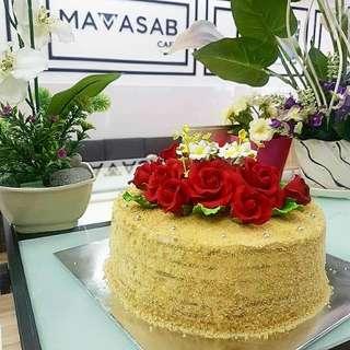 Medovic Honey Russian Cake