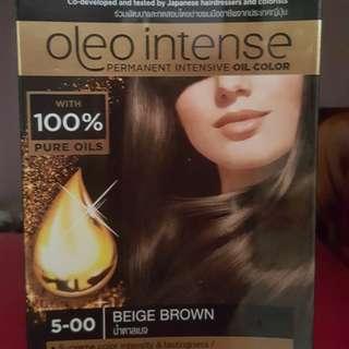 Fast deal 8$ Syoss Oleo Intense Beige Brown  Hair Dye