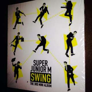 Super Junior M	Swing [3rd Mini Album]