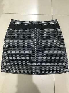 Promod Tribal Print Skirt