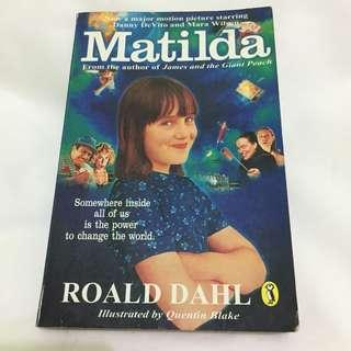 Matilda Movie Cover - Roald Dahl 1996