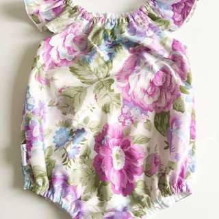 Floral Playsuit 6 to 12 months size