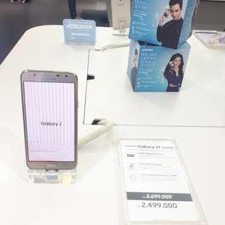 Samsung galaxy J7 Core cicilan 0% with bundling indosat tanpa CC 3 menit