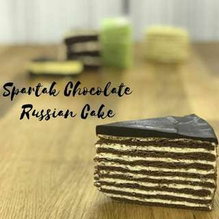 Spartak Chocolate Russian Cake