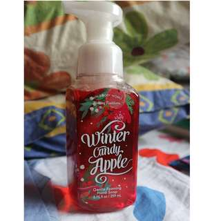 Bath and Body works Winter Candy Apply Hand Soap