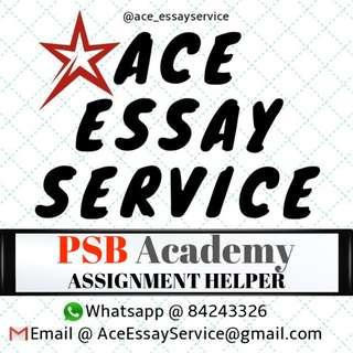 PSB Academy Homework Helper 💻 essay assignment