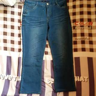 Blue Tight Jeans (size M)