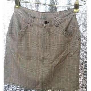 benetton skirt size 28