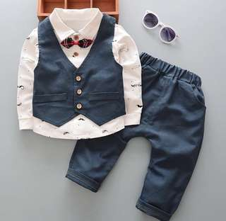 Page Boy Suit wedding vest / suit