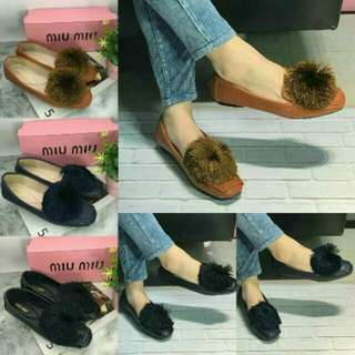 Sp Flatshoes loafer puffy miu import