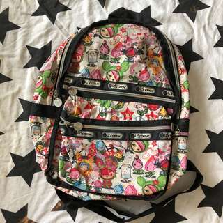 AUTHENTIC LESPORTSAC BACKPACK