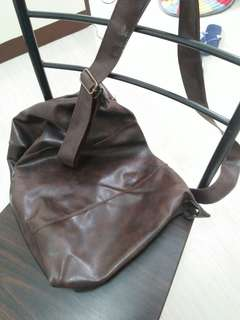 Mens leather bag from Japan