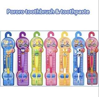 Pororo tooth brush