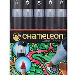 CHAMELEON 5支裝漸變色MARKER (原色系列)