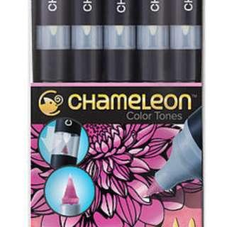 CHAMELEON 5支裝漸變色MARKER (花色系列)