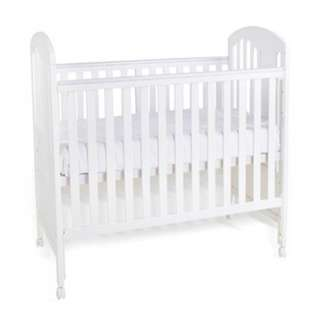 Convertible Baby Cot (white)