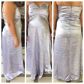 Evening formal tube lavender gown used once