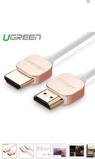 Ugreen hdmi cable 0.5M (2sets)