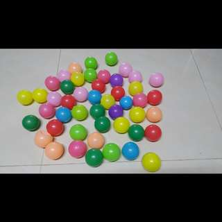 Colourful Plastic Balls for Young Children Funtime