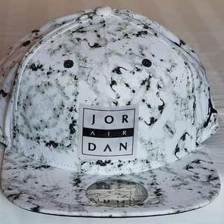 Jordan Snapback Seasonal Printed Cap - White