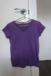 Appleseed Plain Violet Top
