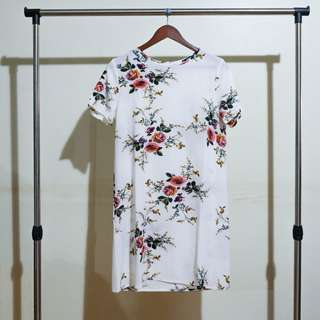 SHEIN BN Floral Shirt Dress