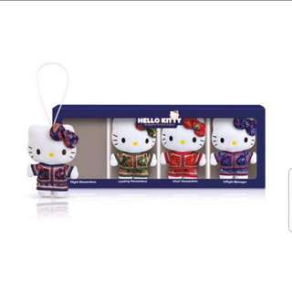 Sq hello kitty doll Singapore airlines