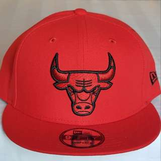 New Era Chicago Bulls Snapback Cap - Red
