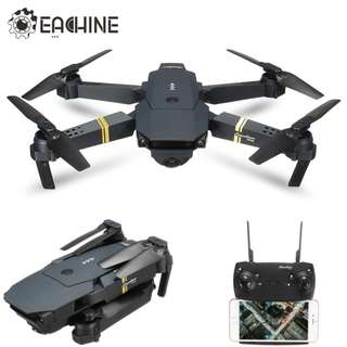 Premium E58 WIFI Flying Drone With Wide Angle HD Camera High Hold Mode Fordable Arm RC Quad-copter RTF