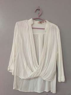 F21 Surplice Top