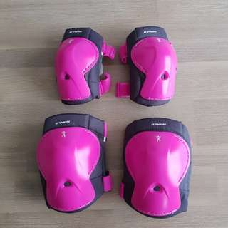 Girl knee and elbow guard