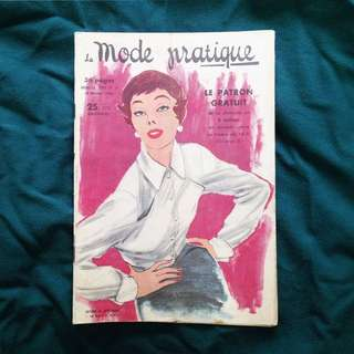 15 FEB 1950 Pour Vous Madame French Vintage Fashion Magazine