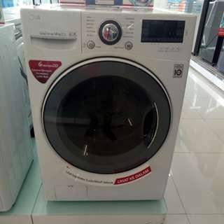 Mesin cuci LG 14kg front loading bisa cicilan tanpa CC dan tanpa DP proses cepat