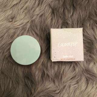 Colourpop Loose Powder Highlighter in Aura Voir