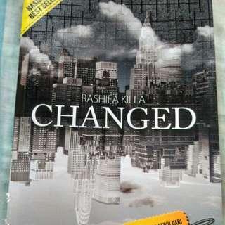 Novel Changed by Rashifa Killa