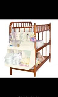 Waterproof Diaper Crib Organizer