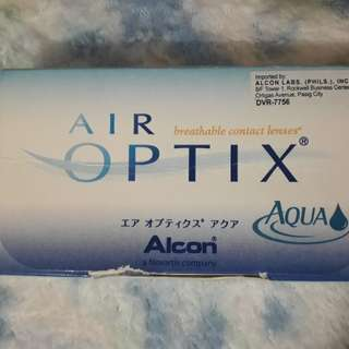 Contact Lens with 2.25 grade