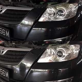 Toyota Camry Headlight Restoration