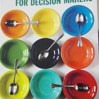 Quantitative Methods for Decision Makers