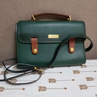 Authentic Philippe Charriol Bag Leather