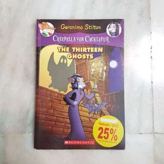 Geronimo Stilton - Creepella Von Cacklefur