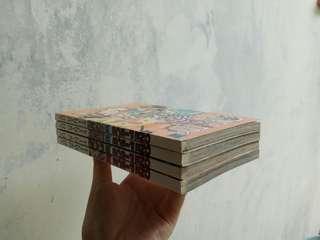 One Piece Vol. 47, 55, 60, 62 - Eiichiro Oda