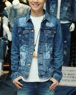 Demin Jacket chevignon (japan)
