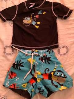 Carters baby boy swim suit