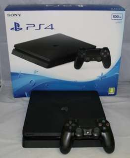 Ps4 Slim 500GB with 1 Cd Games!