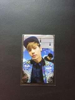 SHINee Jonghyun Official Photocard