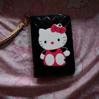 HELLO KITTY WALLET WITH MIRROR